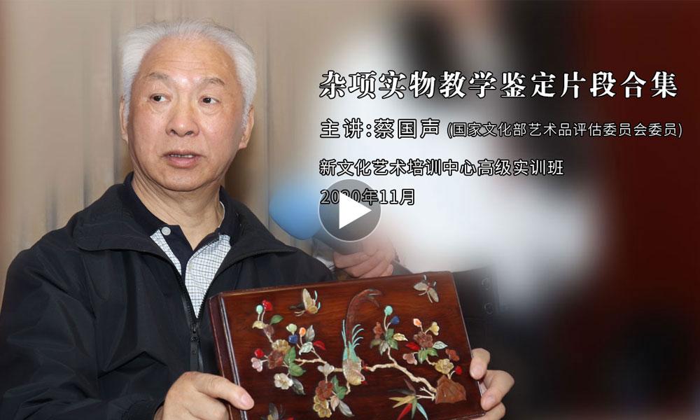 蔡国声老师最新鉴定集锦