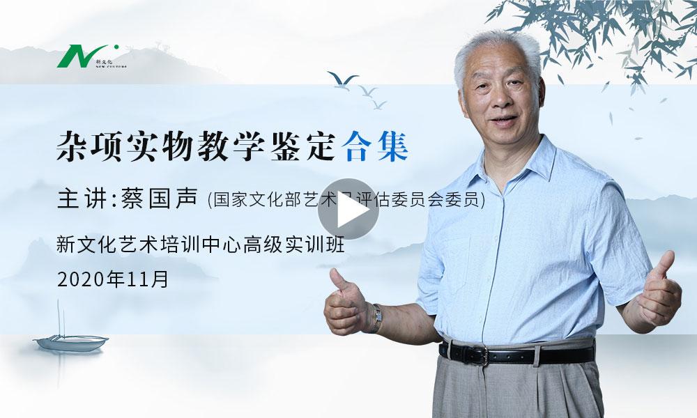 蔡国声老师最新课程
